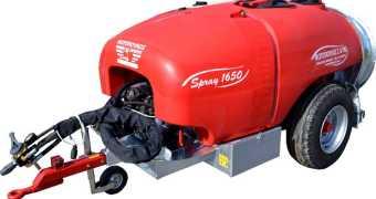 Ραντιστικό-Ψεκαστικό με τουρμπίνα 1650L