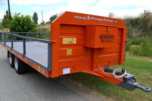 Τρέιλερ-Πλατφορμα με 2 άξονες χαμηλό για 5000kg